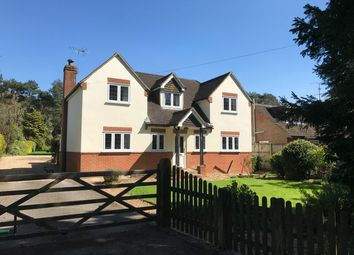 Thumbnail 4 bed detached house for sale in Old Odiham Road, Alton