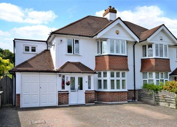 Thumbnail 4 bed semi-detached house for sale in Greenhayes Avenue, Banstead, Surrey