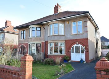 Thumbnail 4 bed semi-detached house for sale in Coniston Road, South Shore, Blackpool