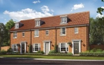 Thumbnail 3 bed terraced house for sale in Silfield Road, Wymondham