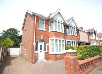 Thumbnail 4 bed semi-detached house for sale in Glastonbury Avenue, Blackpool