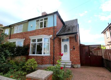 Thumbnail 2 bed semi-detached house to rent in Meadowfield Road, Darlington