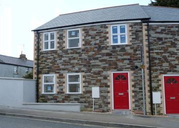 Thumbnail 3 bed end terrace house to rent in Tower Court, Bodmin