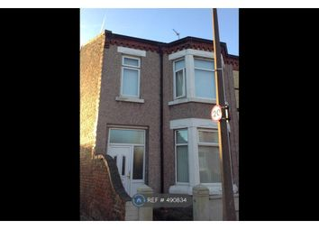 Thumbnail 3 bed end terrace house to rent in Kent Road, Wallasey