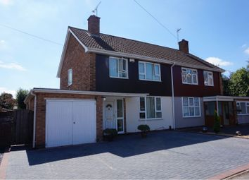 Thumbnail 3 bed semi-detached house for sale in Freemans Close, Leamington Spa