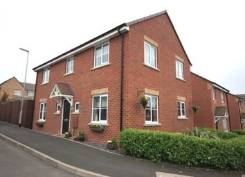 Thumbnail 4 bedroom detached house for sale in Rowhurst Crescent, Talke, Stoke-On-Trent