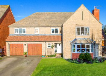 Thumbnail 5 bed detached house for sale in Woodyard Close, Brigstock