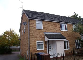 Thumbnail 2 bedroom terraced house to rent in Denham Close, Bury St. Edmunds