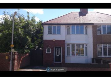 Thumbnail 3 bed semi-detached house to rent in Waverley Road, Hoylake
