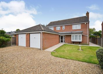 Thumbnail 4 bed detached house for sale in New North Road, Attleborough