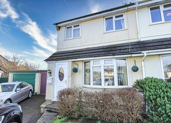 Thumbnail 3 bed semi-detached house for sale in Hop Garden Road, Sageston, Tenby, Dyfed