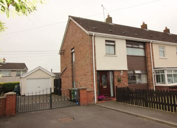 Thumbnail 3 bed terraced house for sale in Glen Crescent, Maghaberry, Craigavon