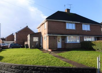 Thumbnail 3 bedroom semi-detached house for sale in Worle Avenue, Llanrumney, Cardiff
