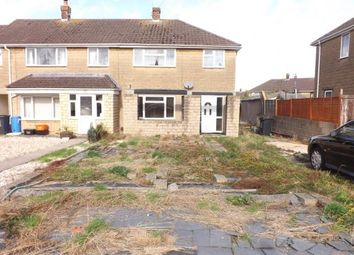 Thumbnail 3 bed semi-detached house for sale in Fosse Close, Rodbourne, Swindon, Wiltshire