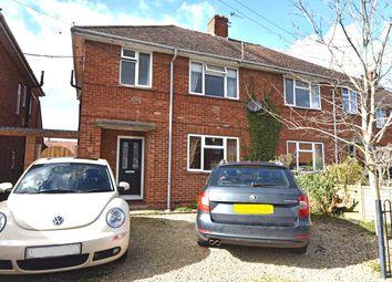 Thumbnail 3 bed semi-detached house for sale in Barnett Road, Steventon, Abingdon