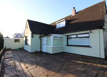 Thumbnail 3 bed detached bungalow for sale in Christchurch, Aberbeeg, Abertillery