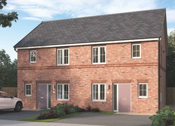 """Thumbnail 3 bed semi-detached house for sale in """"The Emstone"""" at Wellfield Road North, Wingate"""