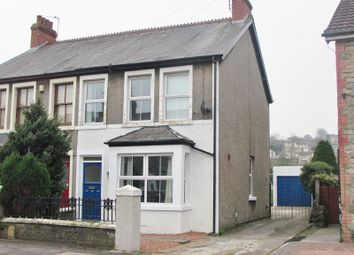 Thumbnail 3 bed semi-detached house to rent in Quarella Road, Bridgend