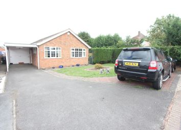 Thumbnail 2 bed detached bungalow for sale in Osbaston Close, Hinckley
