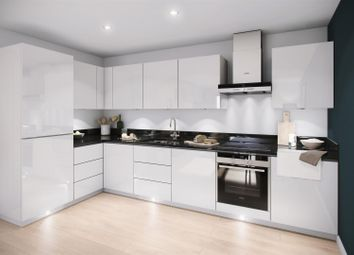 Thumbnail 1 bed flat for sale in Victoria Riverside Apartments, Leeds