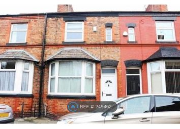Thumbnail 3 bed terraced house to rent in Bridge Road, Liverpool