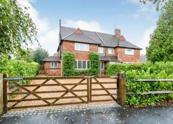 Thumbnail 4 bed semi-detached house for sale in Milford, Godalming, Surrey