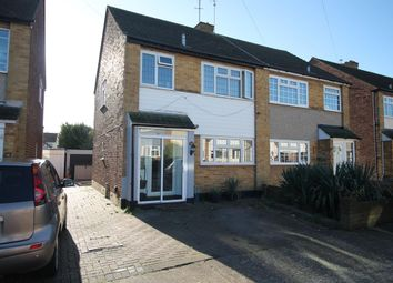 Thumbnail 3 bed semi-detached house for sale in Birch Close, Romford