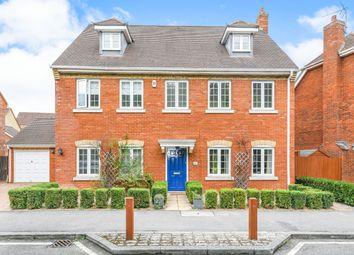 Thumbnail 6 bedroom detached house to rent in Turgis Road, Elvetham Heath, Fleet