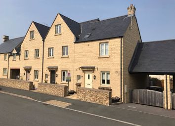 Thumbnail 3 bed end terrace house for sale in Forstall Way, Cirencester