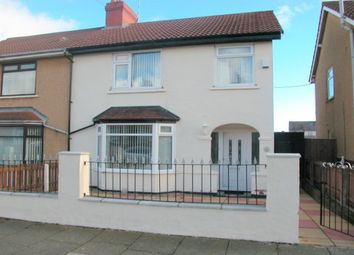 Thumbnail 3 bed semi-detached house to rent in Sumner Road, Prenton