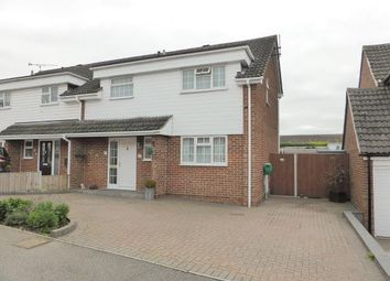 Thumbnail 3 bed semi-detached house for sale in Oak Walk, Benfleet