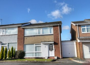 Thumbnail 3 bed semi-detached house for sale in Glenhurst Drive, Chapel Park, Newcastle Upon Tyne
