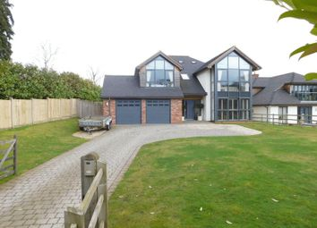 Thumbnail 5 bedroom detached house for sale in Brook Lane, Brocton, Stafford