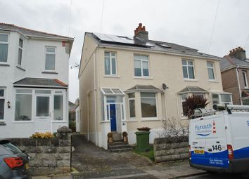 Thumbnail 3 bed semi-detached house to rent in North Down Road, Beacon Park, Plymouth