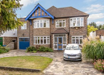 Thumbnail 4 bed detached house for sale in Pine Walk, Surbiton