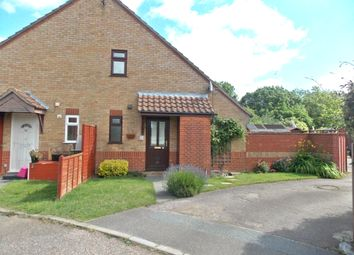 Thumbnail 1 bed end terrace house to rent in Bredfield Close, Felixstowe