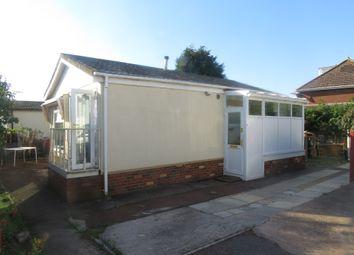 Thumbnail 2 bedroom mobile/park home for sale in Alexander Walk, Ringswell Park, Exeter