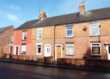Thumbnail 2 bed terraced house for sale in Cheadle Road, Uttoxeter, Staffordshire