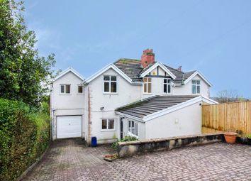 Thumbnail 4 bed semi-detached house for sale in Hendrefoilan Road, Sketty, Swansea