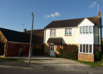 Thumbnail 4 bed detached house for sale in Cornflower Road, Swindon