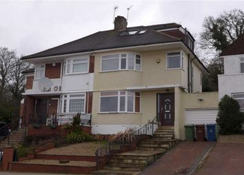 Thumbnail 3 bed semi-detached house for sale in Vernon Drive, Stanmore, Middlesex