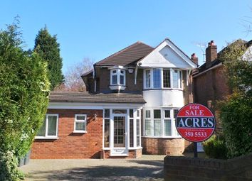 Thumbnail 3 bedroom detached house for sale in Welwyndale Road, Wylde Green, Sutton Coldfield