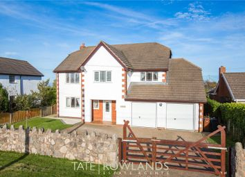 Thumbnail 5 bed detached house for sale in Brynsannan, Brynford, Holywel, Flintshire
