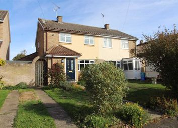 Thumbnail 3 bedroom semi-detached house for sale in Princes Gardens, Lower Somersham, Ipswich