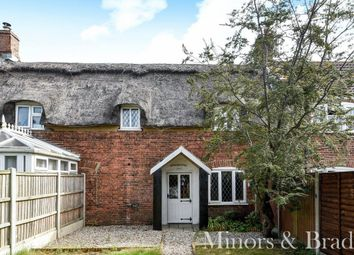 Thumbnail 3 bedroom cottage for sale in Taylors Loke, Hemsby, Great Yarmouth