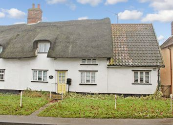 Thumbnail 3 bedroom cottage for sale in The Street, South Lopham, Diss