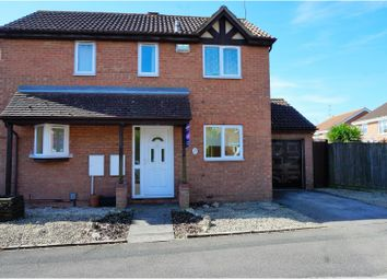 Thumbnail 3 bed detached house for sale in Godwin Road Stratton St Margaret, Swindon