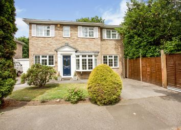 Thumbnail 4 bed detached house for sale in Caldwell Road, Windlesham