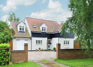 Thumbnail 5 bed detached house for sale in Henham Road, Debden Green, Saffron Walden