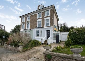 Thumbnail 5 bed semi-detached house for sale in Kearsney Avenue, Kearsney, Dover, Kent